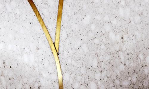 Brass-inlaid Terrazzo CE002