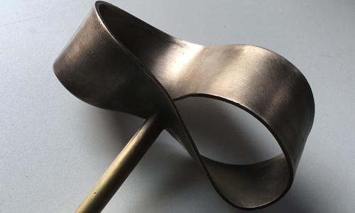 pROJECT: bronze sculpture - CAST bRONZE dOOR HANDLE
