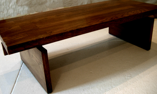 Project: mahogany bench