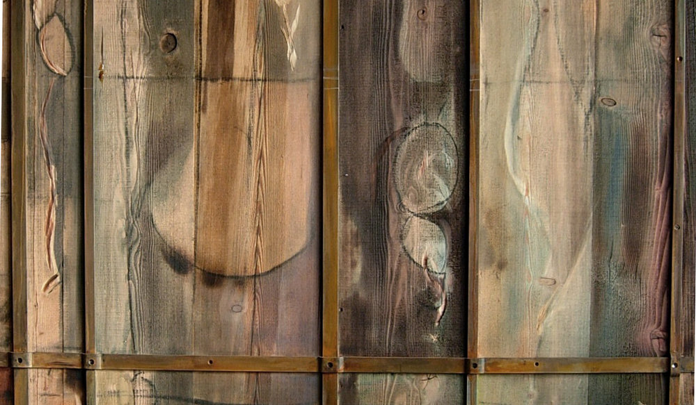 Project: BURNED WOOD BARN DOOR