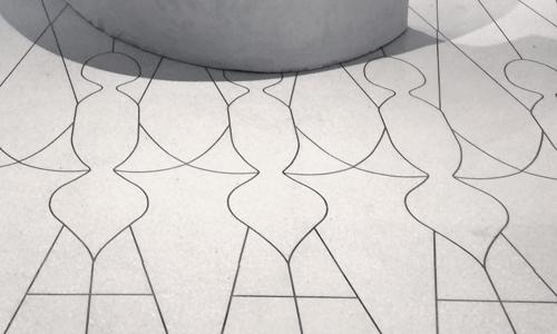 Project: Brass-inlaid Terrazzo Floor