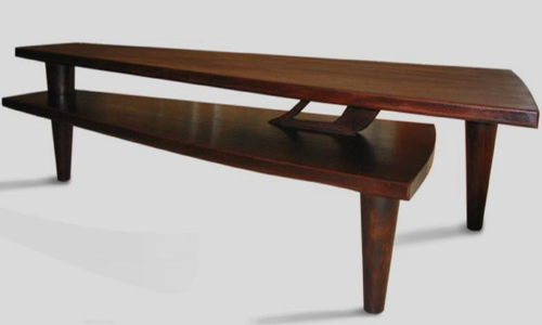 Project: Custom Wood Furniture   Mahogany Coffee Table