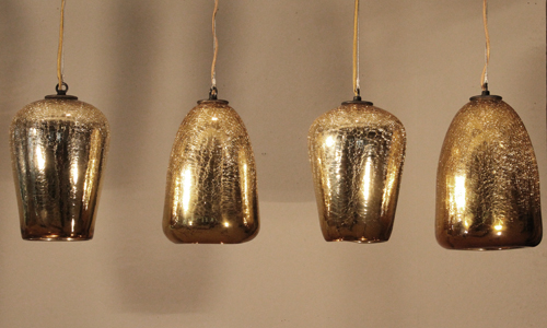 Project: crackled glass pendants
