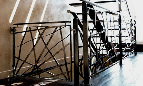 Project: Steel Sculptural Staircase