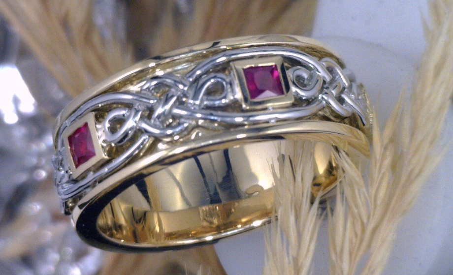 Ruby_s set in a 18k Yellow and white gold band.png