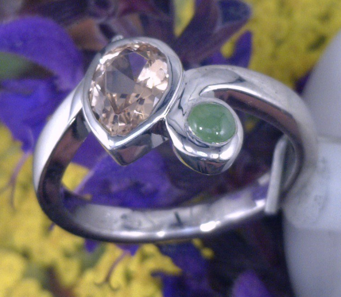 Utah Topaz and green jade set in Palladium.png