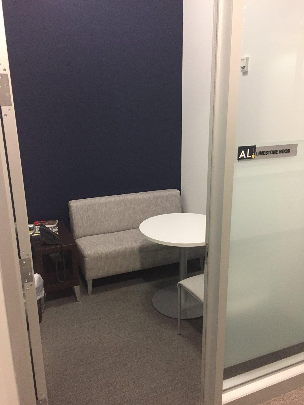 Limestone Room Seats: 1-2