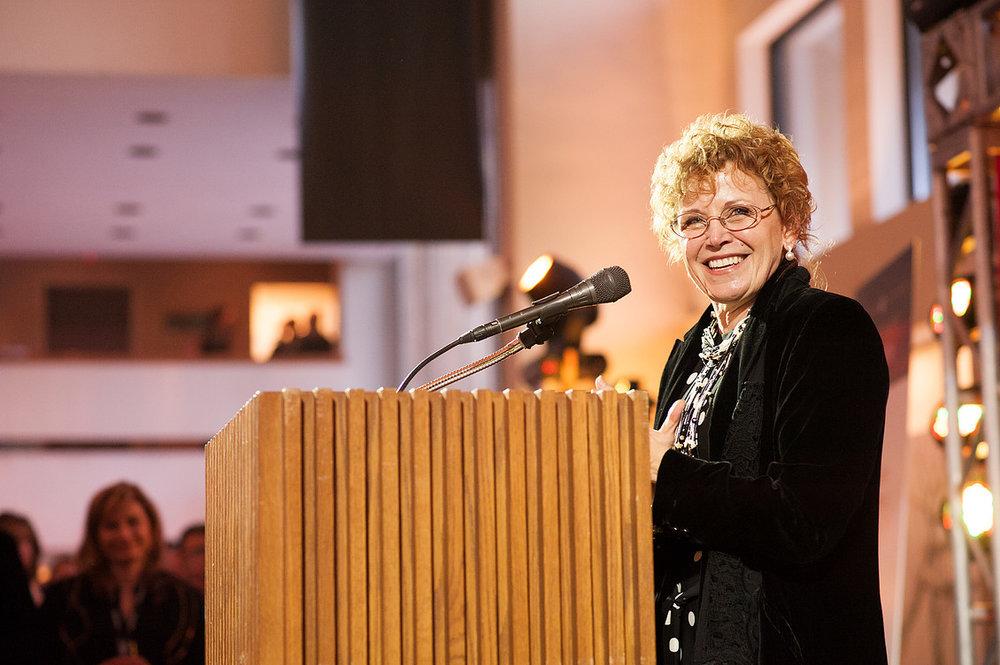 podium photograph