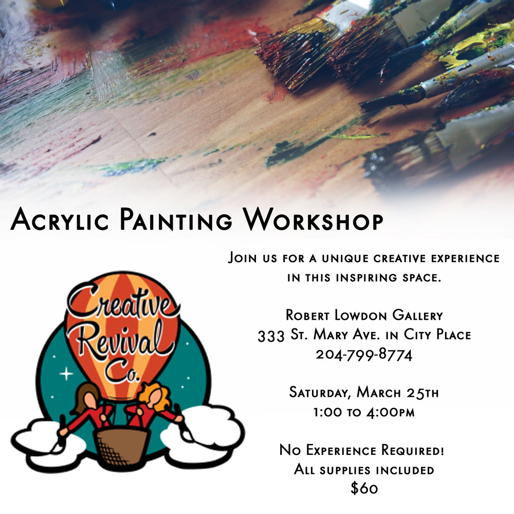Artist Workshop Winnipeg
