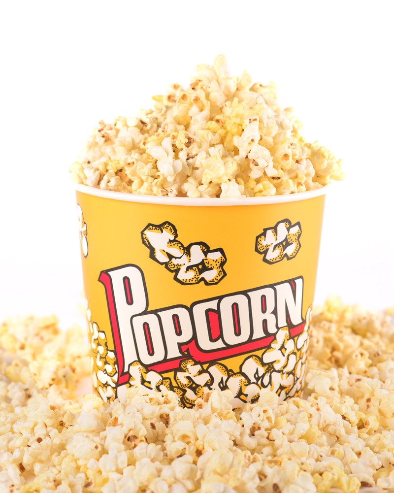 Here is some popcorn for your trouble. © Robert Lowdon