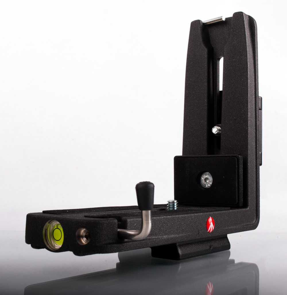 Manfrotto L Bracket. I took this when it was brand new.