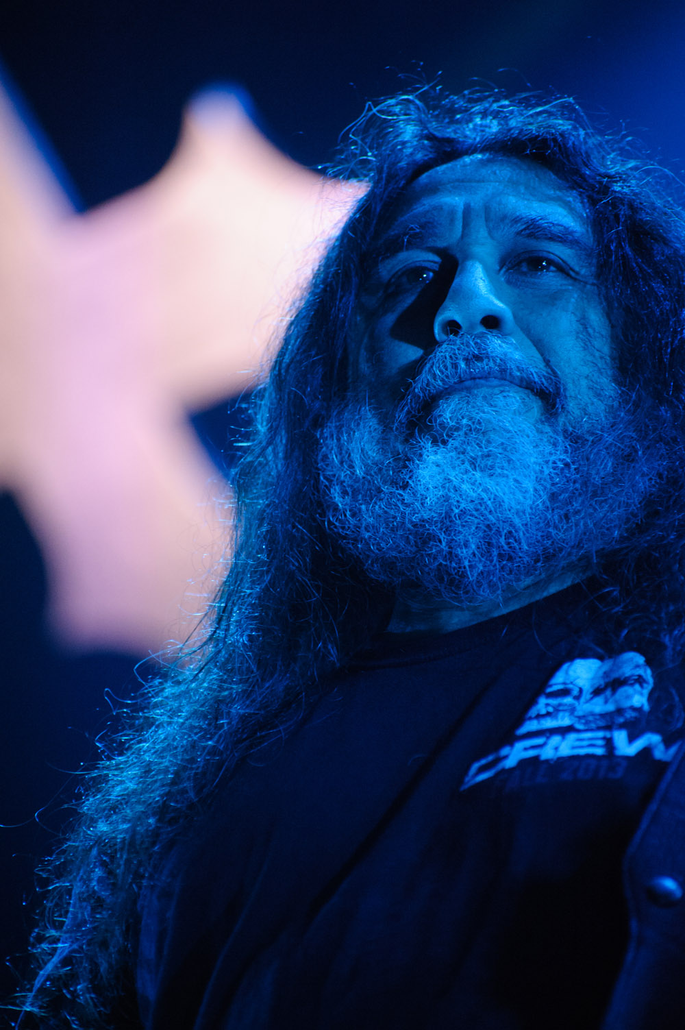 Tom Araya from Slayer © Robert Lowdon
