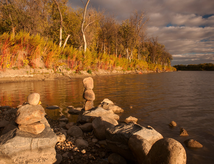 Rock Statues.