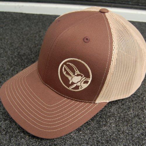 bca15664abd ATLAS SnapBack Trucker Hat  Brown Khaki — ATLAS Consulting Group ...