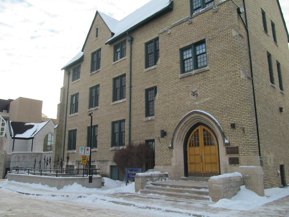 The Knowles Douglas Student Union Building, home to The Quill offices, seen in November 2012. (Brady Knight/The Quill)