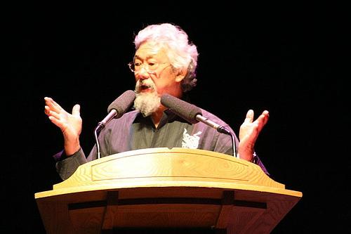 David Suzuki (Environment North / Flickr)