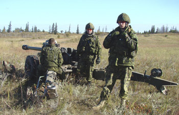 File photo. Canadian soldiers at CFB Shilo. (Aspen Gainer / Western Sentinel)