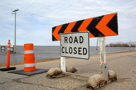 According to The Weather Network, Brandon and area might not be seeing these road signs this spring. (Cee-Lo Knows / Flickr)