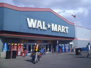 File photo. Wal-Mart store (in Edmonton that looks not unlike our own). (markyeg / Flickr)