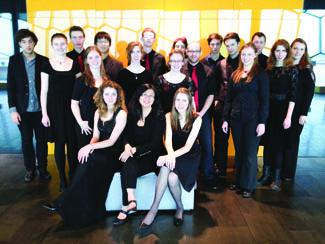 The BU New Music Ensemble. (BUNME / Brandon University)