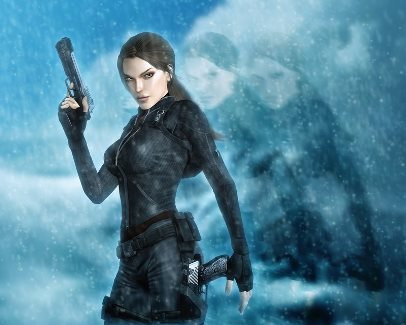 File photo. Fan art of Tomb Raider protagonist Lara Croft. (Halli-well / Google Images)