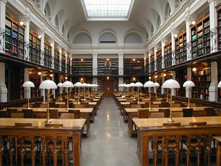 The library of Graz University in Austria, perhaps not unlike Brandon University's in the near future. (Dr. Marcus Gossler / Google Images Common)