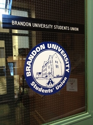 File photo. Brandon University Students' Union (BUSU) headquarters in the Knowles-Douglas Building. (Holly Kalyniuk / The Quill)