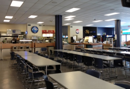 File photo. Brandon University's infamous cafeteria. (Holly Kalyniuk / The Quill)