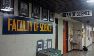 Faculty of Science office. (Logan Praznik / The Quill)