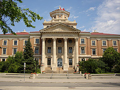 University of Manitoba Administration Building. (Michael G. Noll / Flickr)