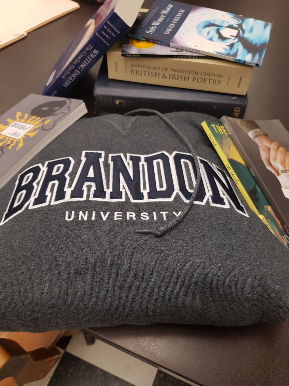 Assorted bookstore merchandise. (Ariele Kehler/The Quill)