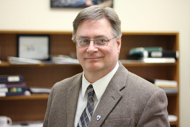 Dr. Steven Robinson. (Brandon University)