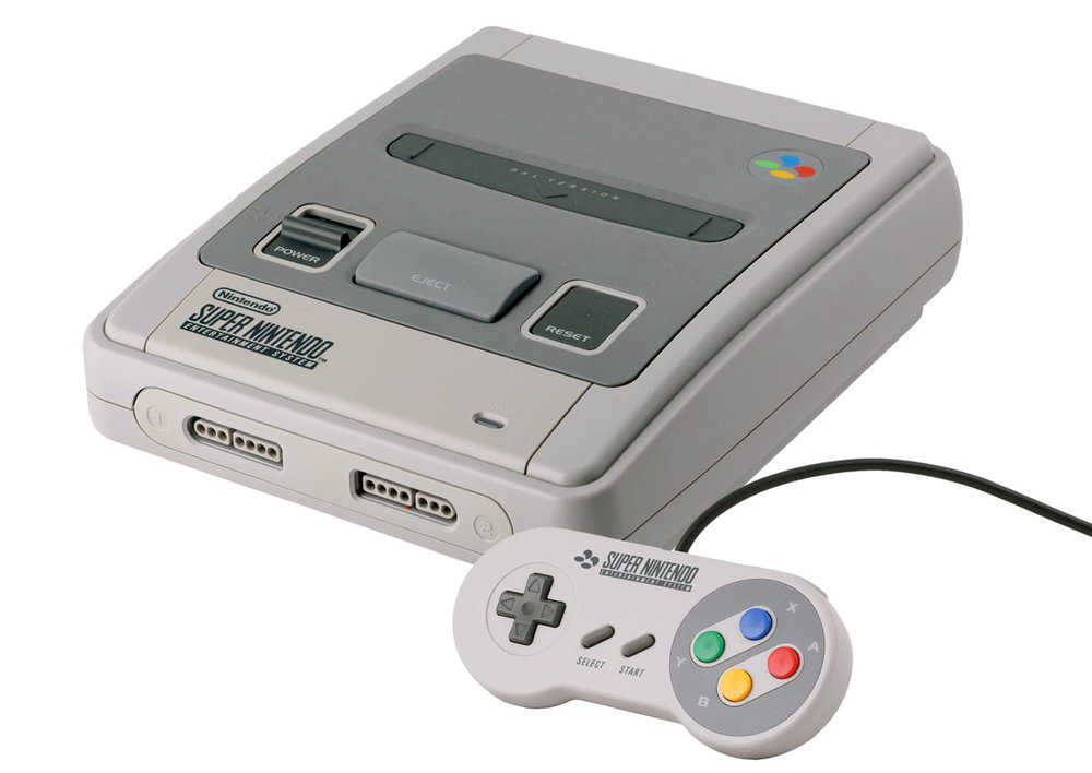 The SNES Classic looks something like this, but smaller. (JCD1981NL/Wikimedia Commons under  CC BY 3.0 )