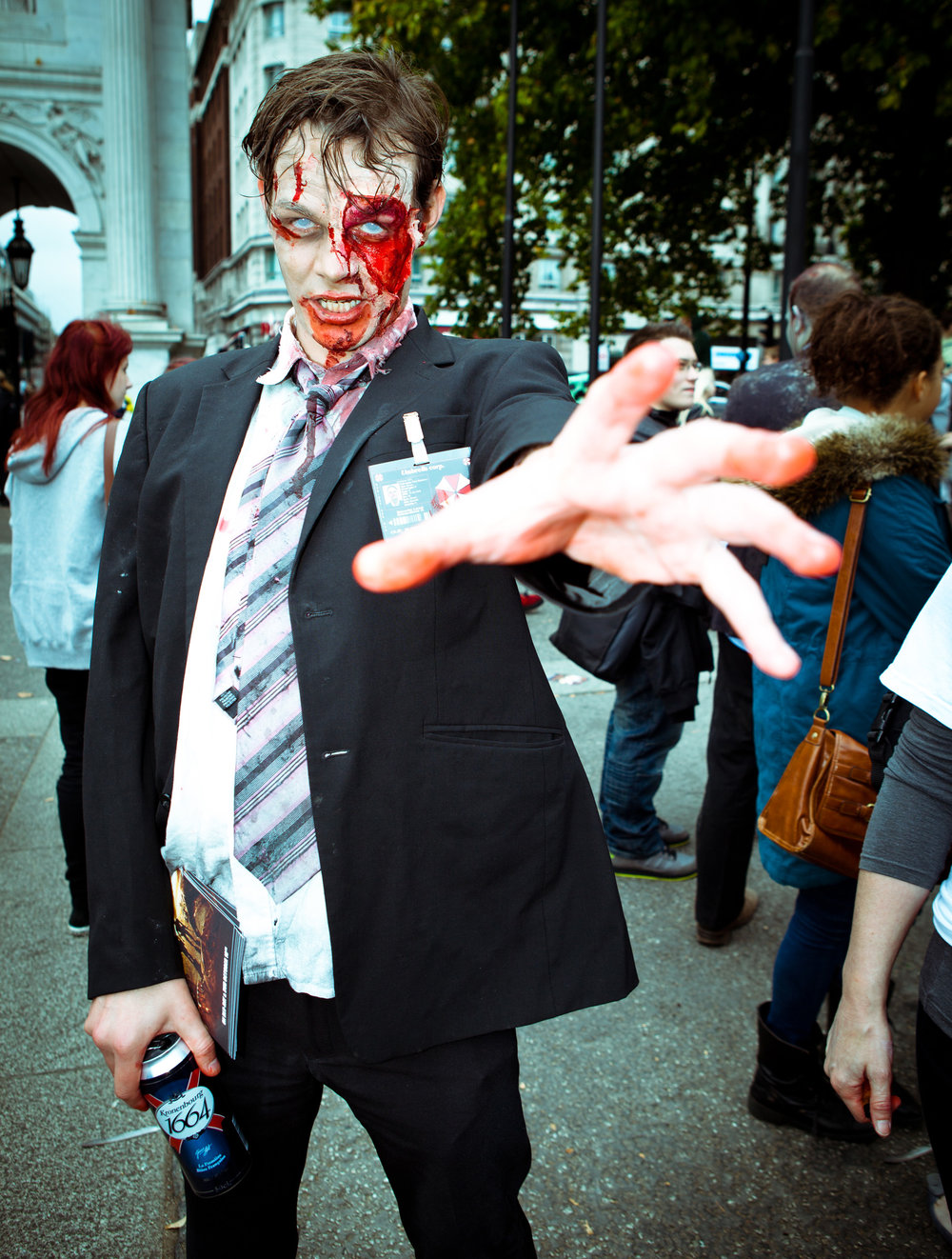 World Zombie Day 2011. (Martin SoulStealer/Wikimedia Commons)