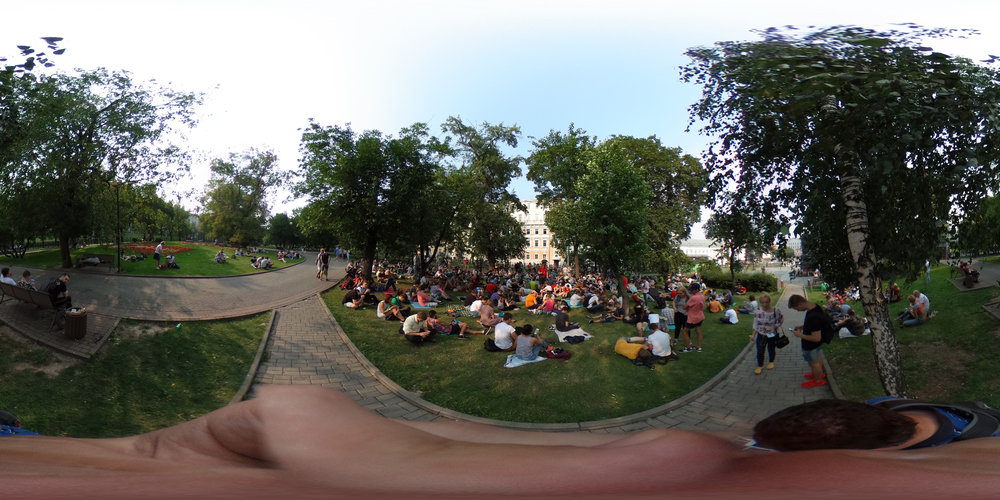Pokémon Go players in Moscow.(Artem Smetlov/Flickr under  CC BY 2.0 )