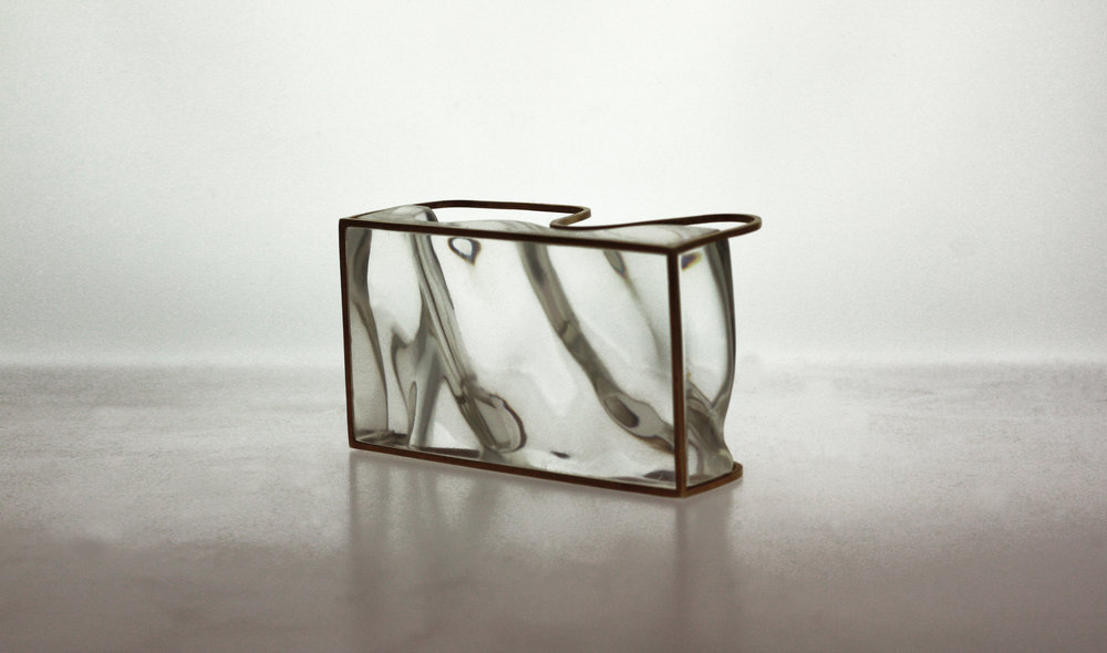 Leila Du Mond Encapsulate contemporary art glass jewelry