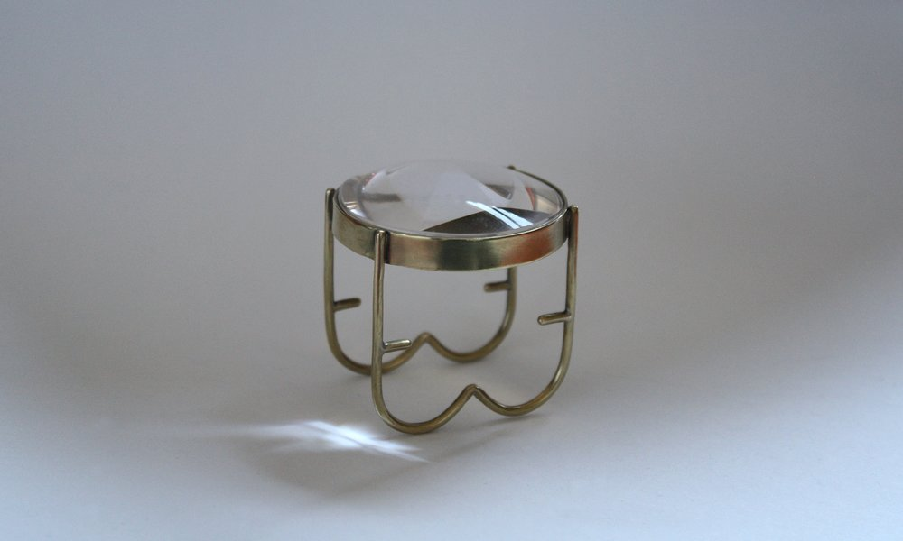 Leila Du Mond Magnify contemporary art glass jewelry