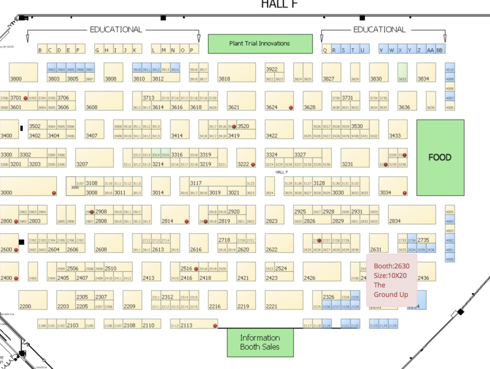 Stop by our booth #2730 - ...because it's going to be hard not to see us