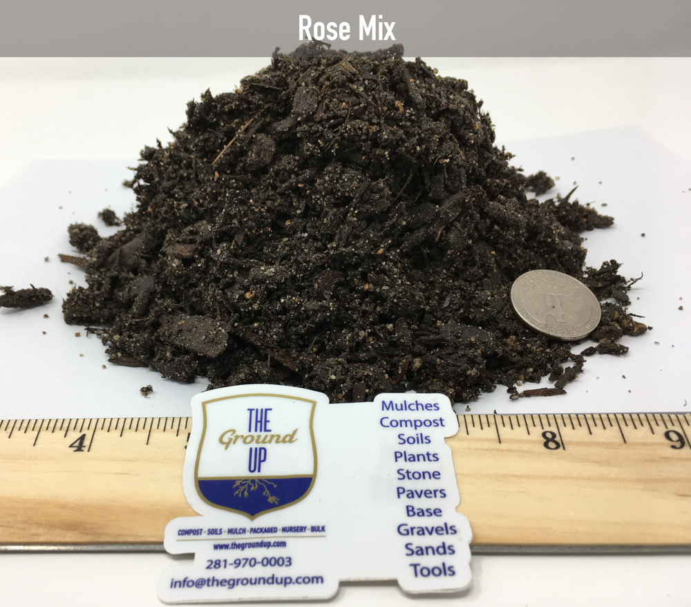 Our most popular soil for acid loving plants. Roses & Azaleas thrive in this soil blend. Made from a compost base and blended with large grain angular sand & composted black pine.