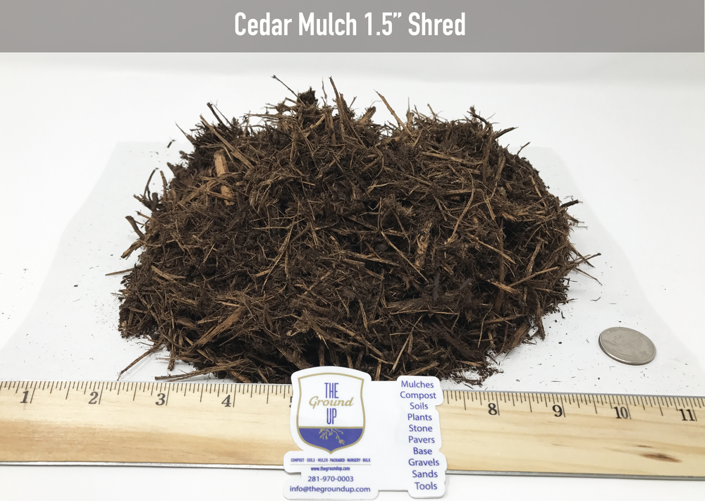Great as an insect repellent. This is the prettiest Cedar Mulch you will ever use on your landscapes.