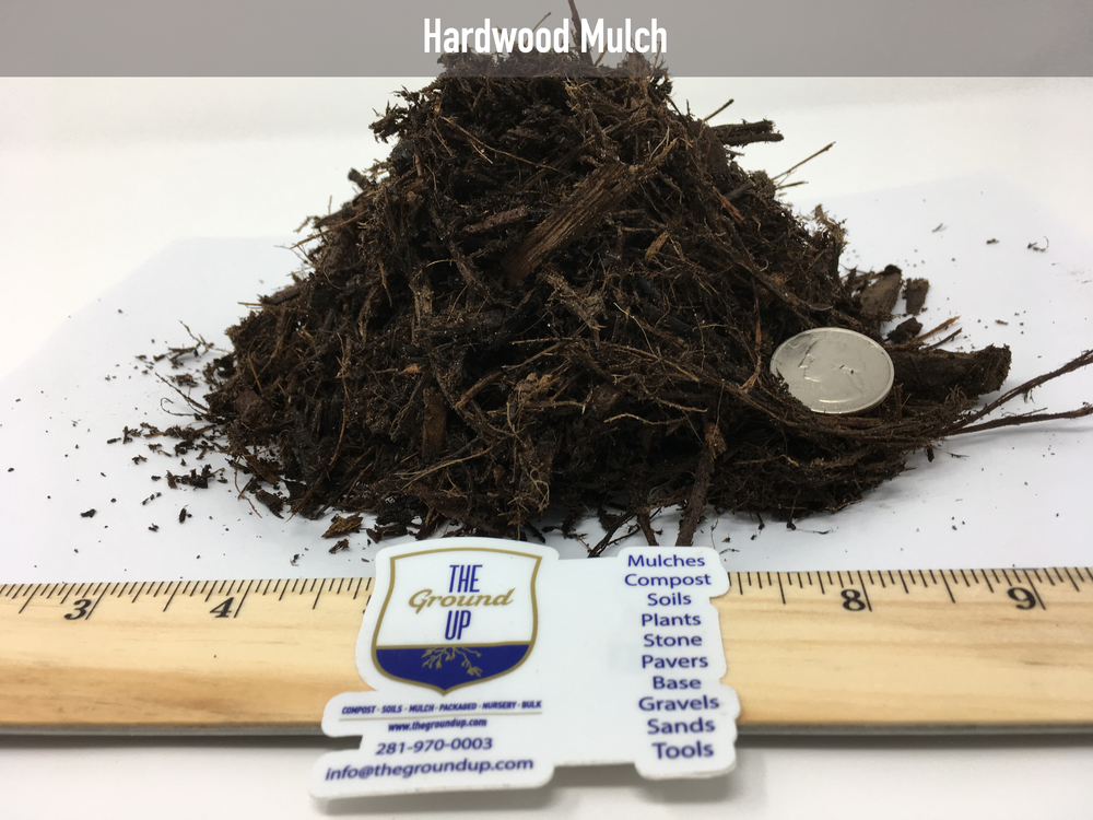 Our most popular mulch. This is a double shredded & composted mulch. Made from a mix of native woods, leaves, and clippings. Excellent for flowerbeds, control of soil temperatures, suppressor of weeds.