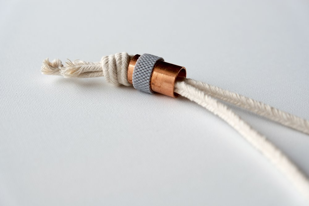 Periwinkle Rope Necklace