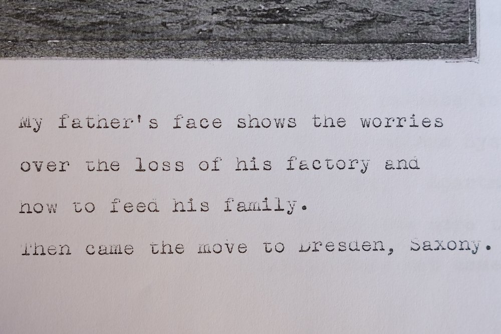 An excerpt from my Great-grandmother's memoir.