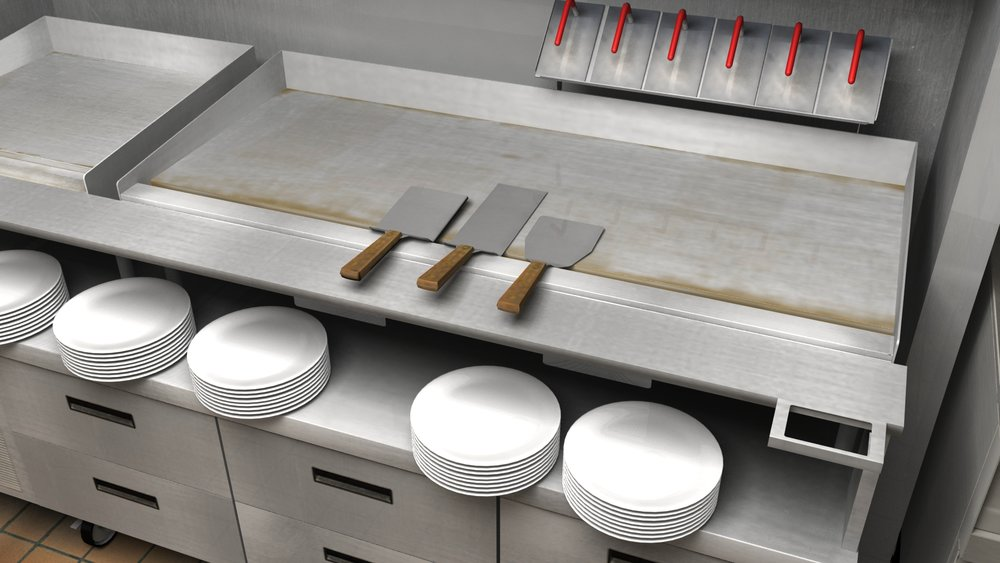 3D Industrial Grill