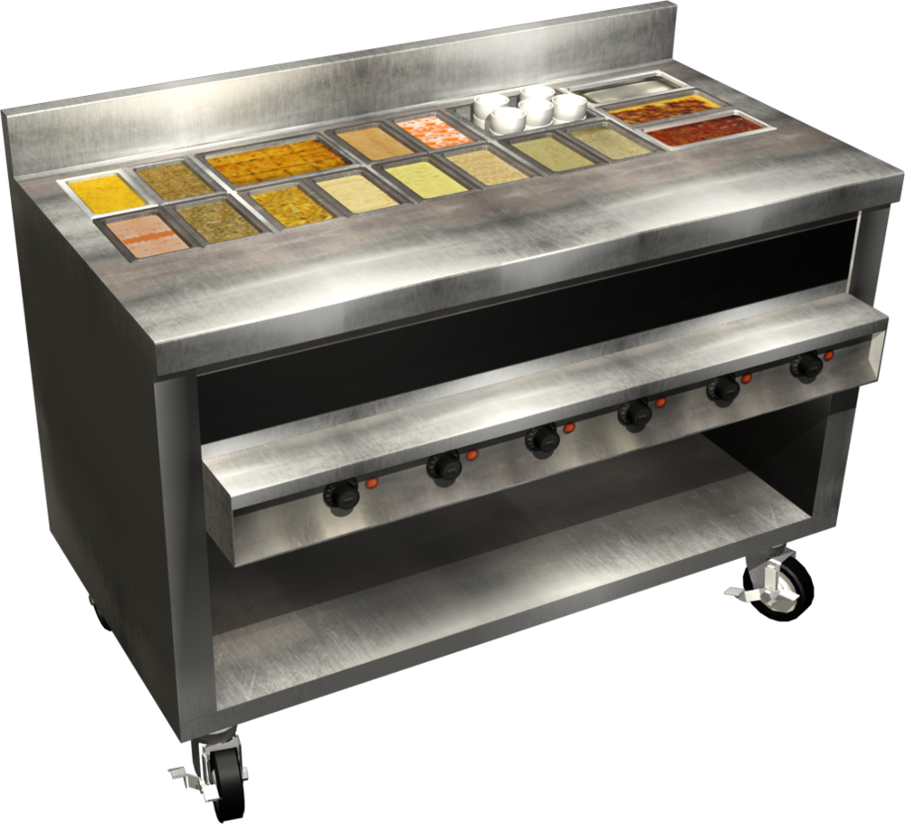 3D Steam Table