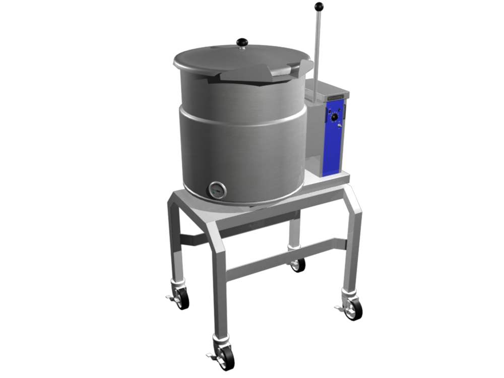 3D Industrial Kettle