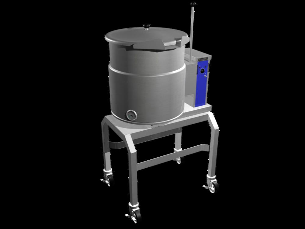 3D Industrial Kettle