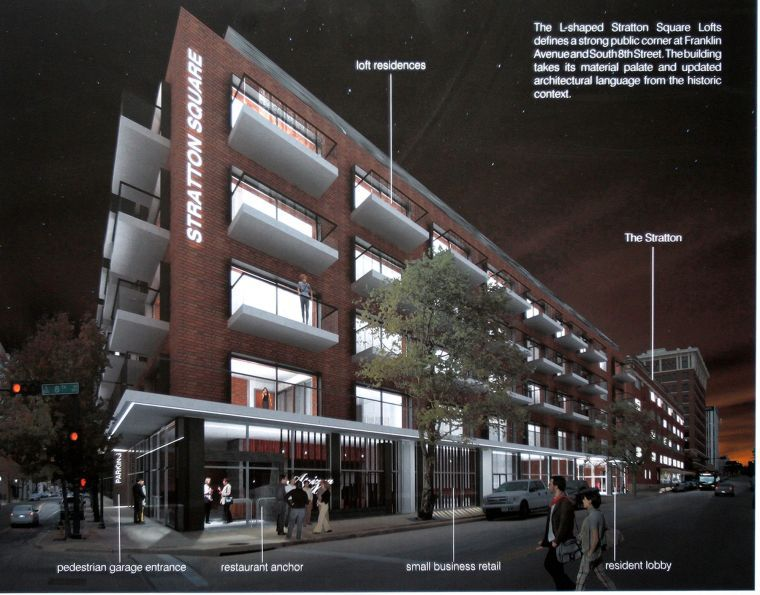 Artist Rendering of the Stratton/Ellis Urban Group