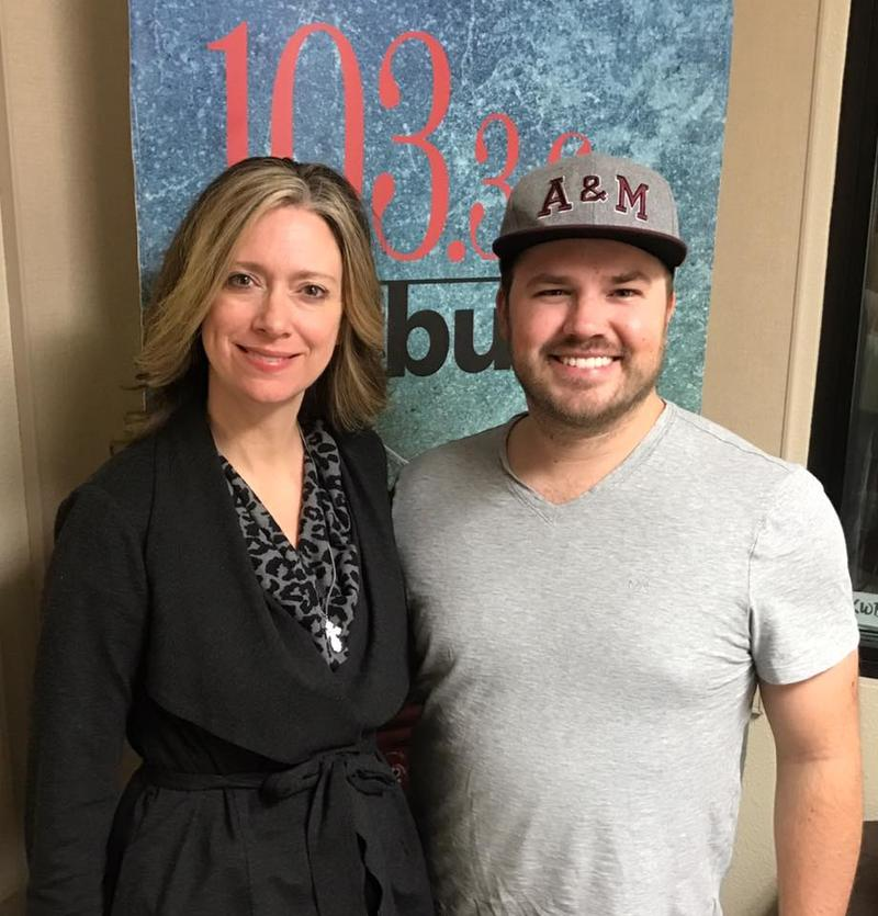 Dana Miller, owner of The Village Herbalist & Holistic Health Center, with host Austin Meek