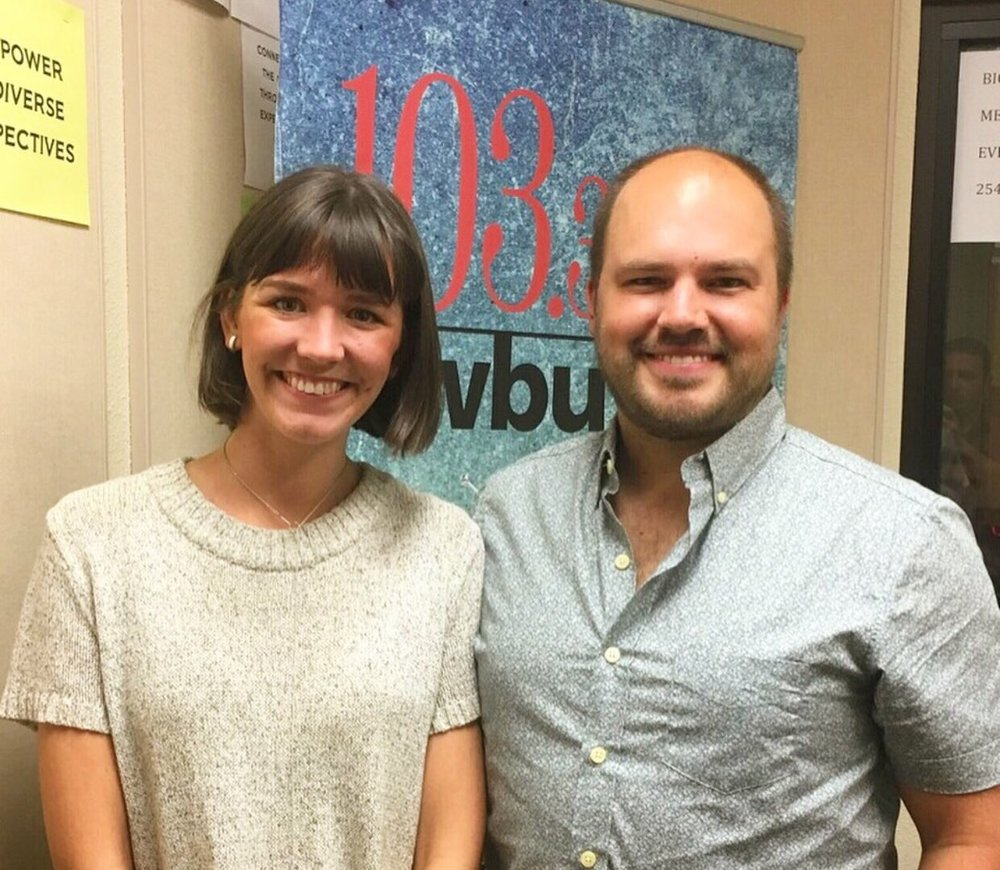 Ellen Mote of EM Jewelry+Design with Downtown Depot host Austin Meek